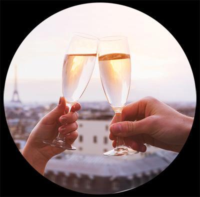 Lien vers la page des amateurs de Rosé pamplemousse pétillant Vicomte de Briansart