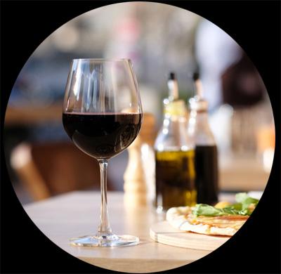 Lien vers la page pour les restaurants