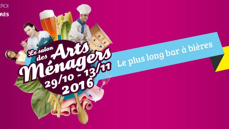 Dernière sortie de l'année du rosé pamplemousse : Les arts ménagers à Charleroi
